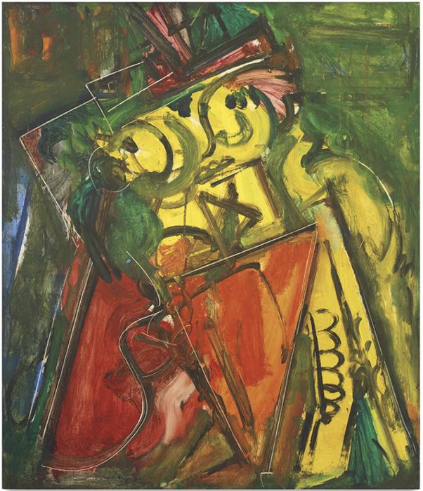 Hans Hofmann »Landscape no.49« 1942