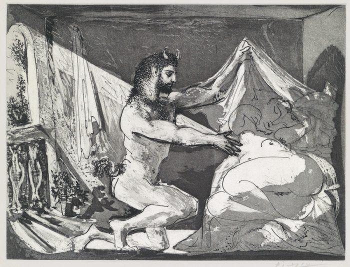 Pablo Picasso Faune dévoilant une femme 1936