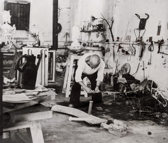 Andre Villers, Pablo Picasso at Le Fournas