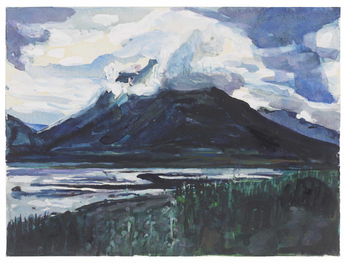 Anselm Kiefer Noch Nicht [Not yet], 1974-1975