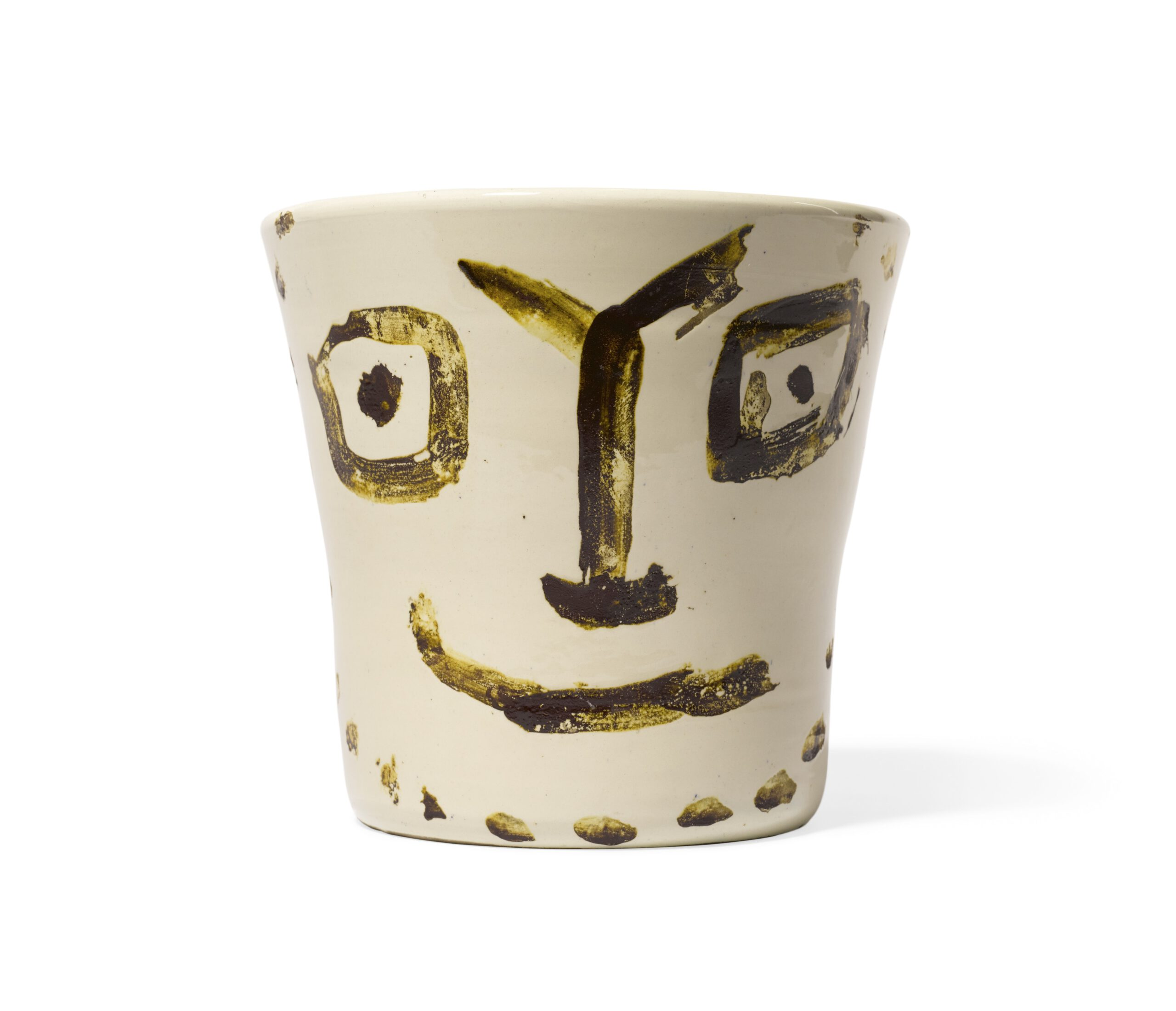 Pablo Picasso, Visage-souriant, 1956